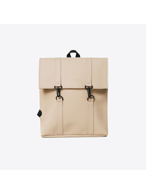 Rains MSN Bag Mini Beige Backpack