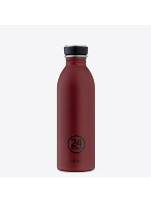 24Bottles Country Red Urban Drinking Bottle 500ml