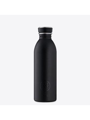 24Bottles Tuxedo Black 500ml Drinkfles