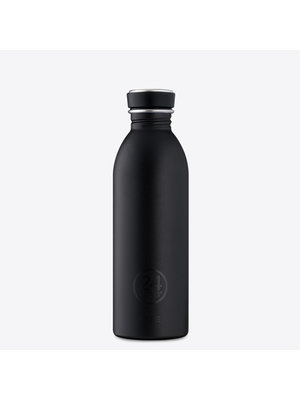 24Bottles Tuxedo Black Urban Drinkfles 500ml