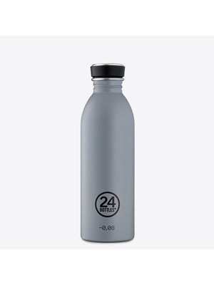 24Bottles Formal Grey Urban Drinking Bottle 500ml