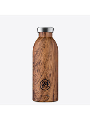 24Bottles Sequoia Wood 500ml Bouteille Thermos
