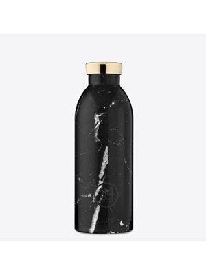 24Bottles Black Marble 500ml Thermos Bottle
