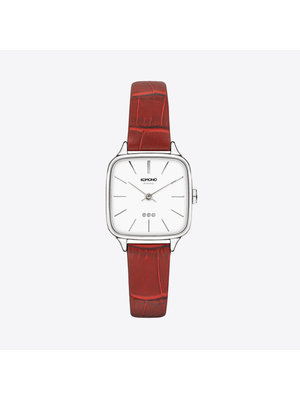 Komono Kate Croco Red Watch
