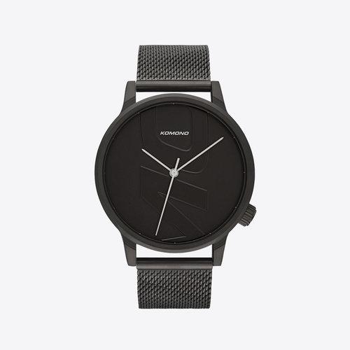 Komono Winston Mesh Tag Black Watch