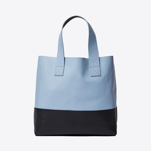 Sandqvist Iris Sky Blue Black  Shoulder Bag