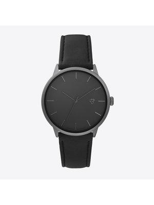 CHPO Khorshid Betong Horloge - Zwarte band