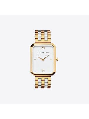 Kapten and Son Grace Gold Bicolor Steel Horloge
