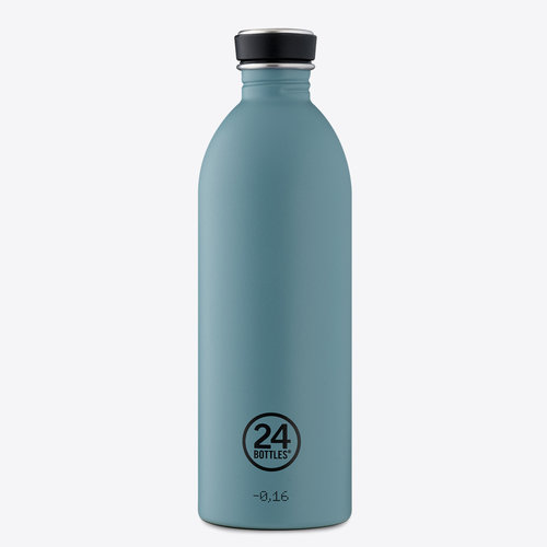 24Bottles Powder Blue Urban Drinkfles 1000ml