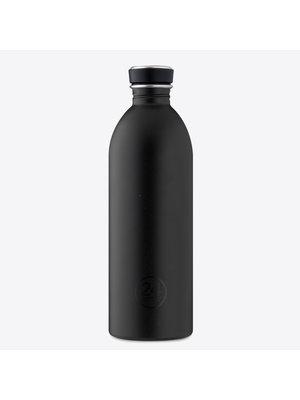 24Bottles Tuxedo Black 1000ml Drinkfles