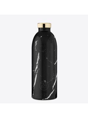 24Bottles Black Marble 850ml Thermos Bottle