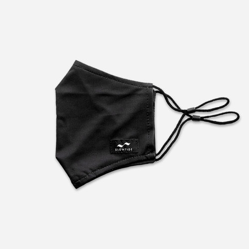 Slowtide Face Mask Black