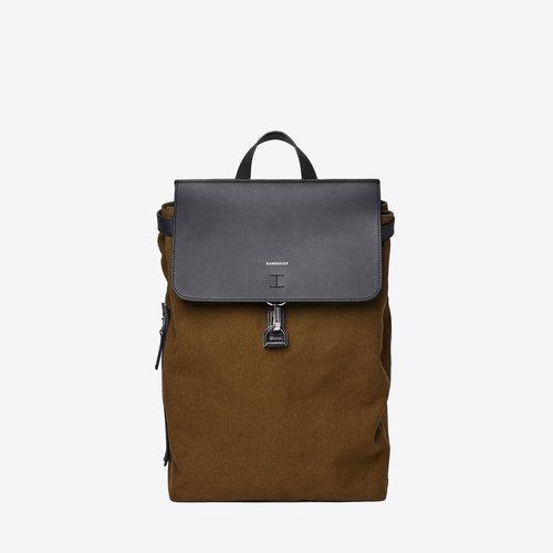 Sandqvist Alva Metal Hook Olive Backpack