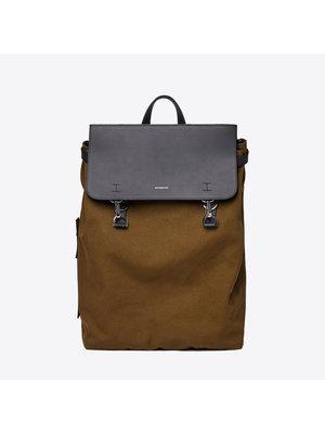 Sandqvist Hege Metal Hook Olive Backpack