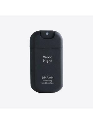 HAAN Spray désinfectant pour les mains rechargeable - Wood Night