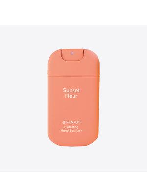 HAAN Spray désinfectant pour les mains rechargeable - Sunset Fleur
