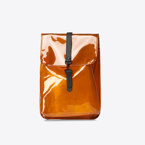 Rains Rucksack Shiny Amber Backpack