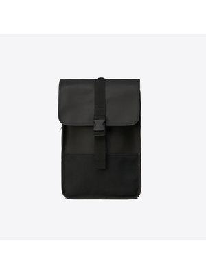 Rains Buckle Backpack Mini Black Backpack