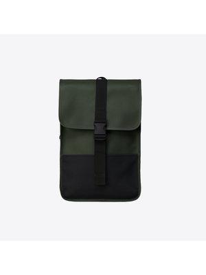 Rains Buckle Backpack Mini Green Backpack