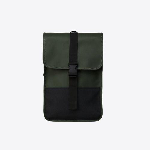 Rains Buckle Backpack Mini Green Rugzak