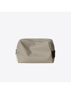 Rains Wash Bag Taupe Toilettas