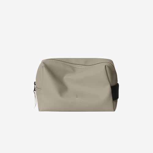 Rains Wash Bag Taupe Trousse de toilette