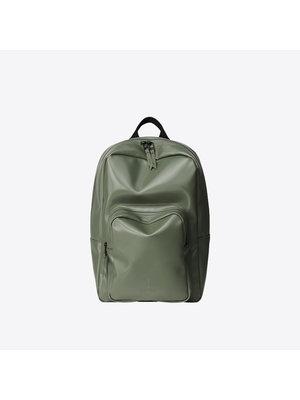 Rains Base Bag Mini Shiny Olive Backpack
