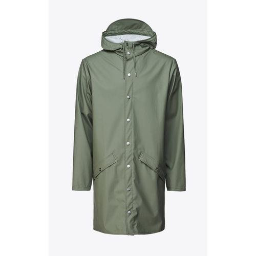 Rains Long Jacket Olive Regenjas