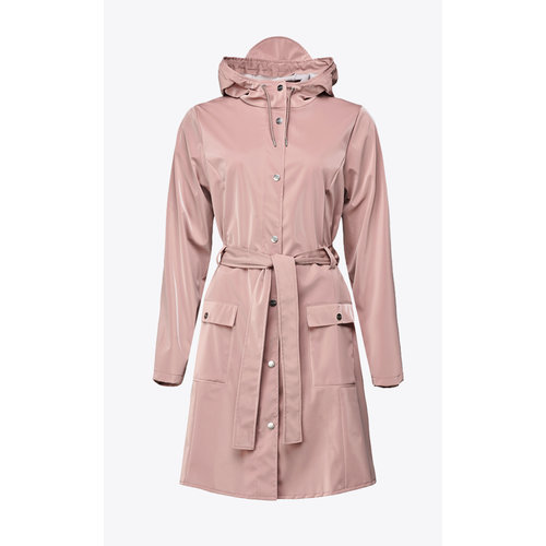 Rains Curve Jacket Blush Regenjas