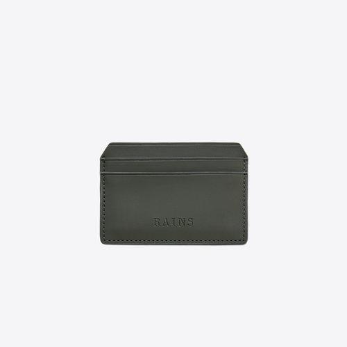 Rains Card Holder Green Pasjeshouder