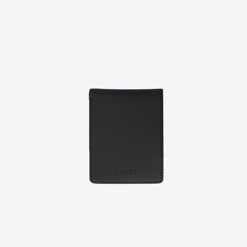 Rains Folded Wallet Black Portemonnee