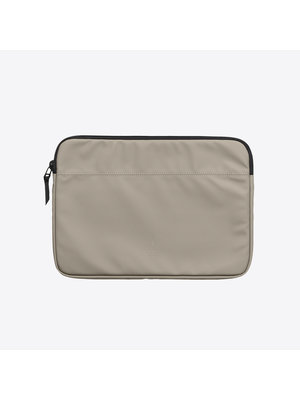 Rains Laptop Case Taupe 15 inch
