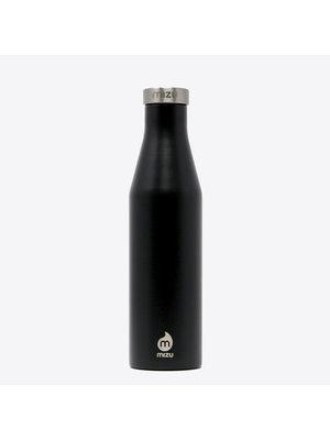 Mizu S6 Black Thermos Bottle 600ml