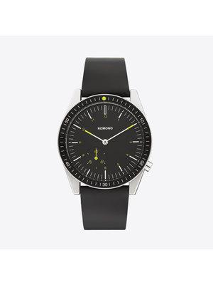 Komono Ray Legacy Leather Black Watch
