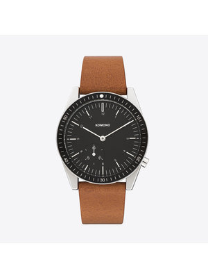 Komono Ray Legacy Leather Cognac Watch