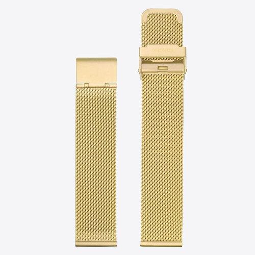 Komono Komono Mesh Horlogeband 20 Gold Mesh