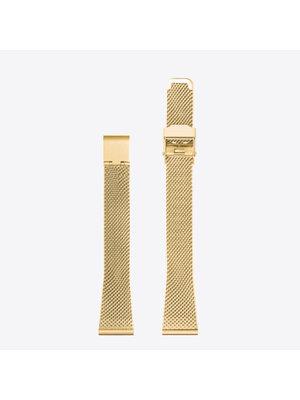 Komono Komono Mesh Horlogeband 12 Gold Mesh