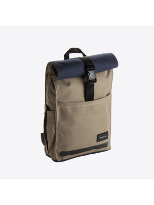Property of Max Roll Down Backpack Khaki