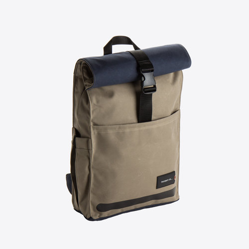 Property of Max Roll Down Backpack Khaki Backpack