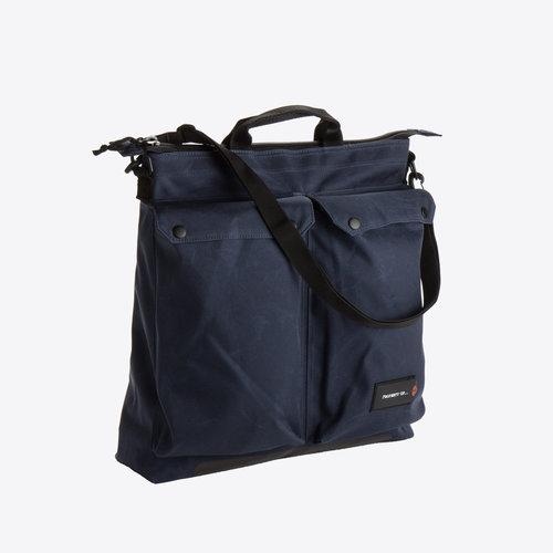 Property of Zoe Helmet Bag Navy