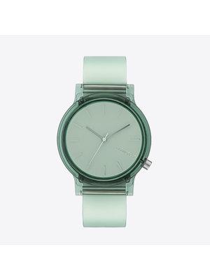 Komono Mono Clear Aqua Horloge