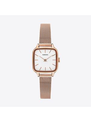 Komono Kate Royale Rose Gold Horloge