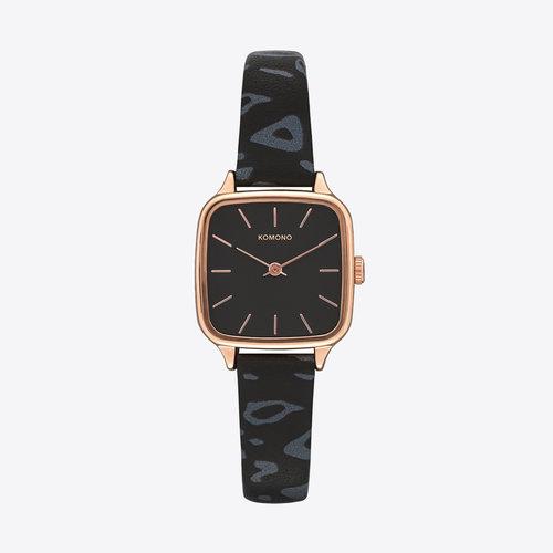 Komono Kate Animal Black Watch