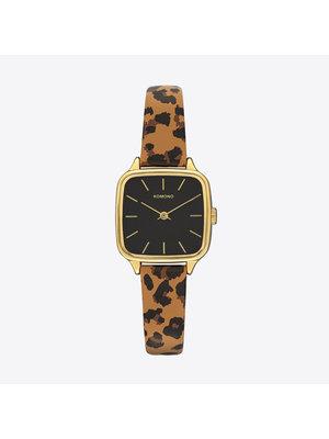 Komono Kate Animal Tan Horloge