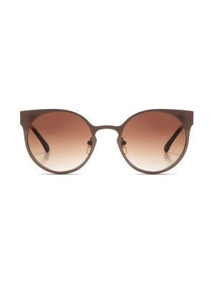 Komono Lulu Metal Pale Copper Sunglasses