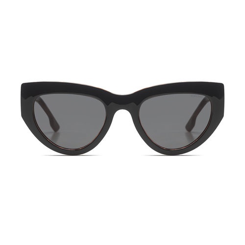 Komono Kim Black Tortoise Sunglasses