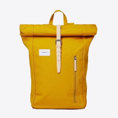 Sandqvist Dante Yellow Backpack