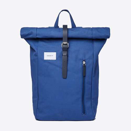 Sandqvist Dante Blue Backpack