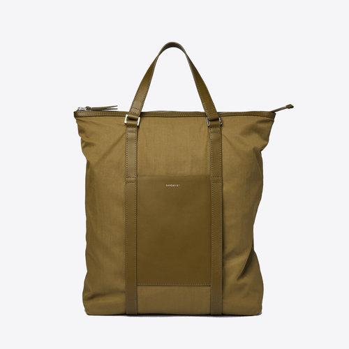Sandqvist Marta Military Olive Backpack