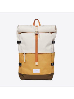 Sandqvist Bernt Yellow Sand Backpack